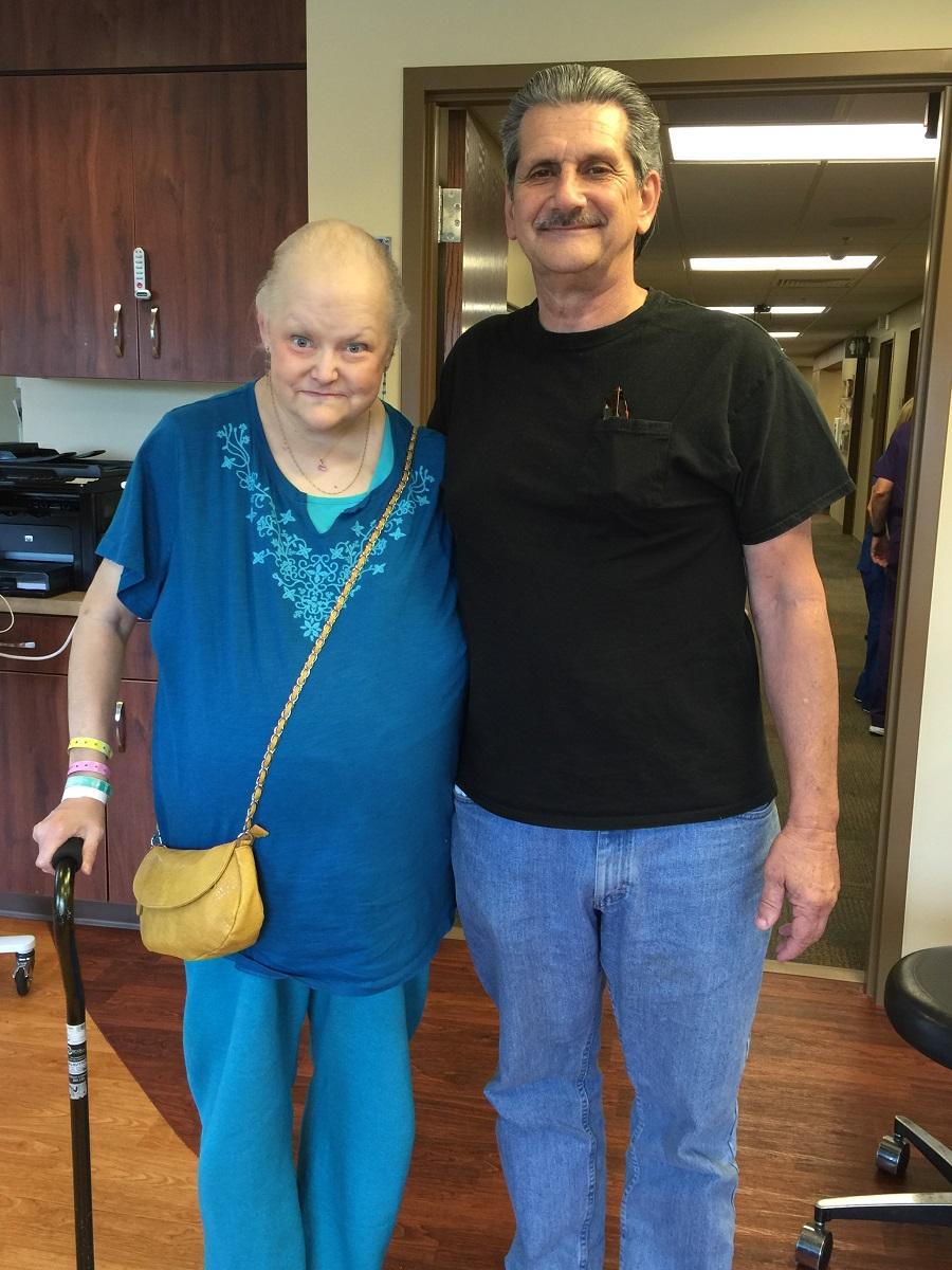 Beverly McNamara Stage4 Ovarian Cancer Survivor