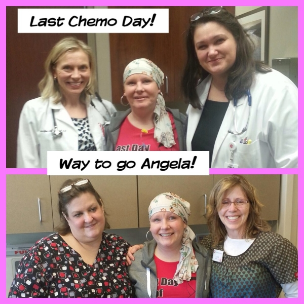 Breast-Cancer-Survivor-Angela-with-Irina-Popa-MD-and-Oncology-Associates-Staff