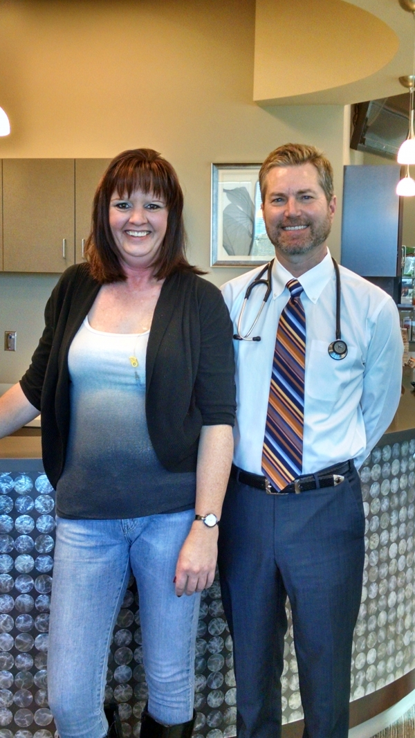 Breast-Cancer-Survivor-Carla-Koehler-with-Stephen-Lemon-MD