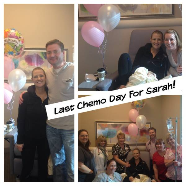 Breast-Cancer-Survivor-Sarah-Last-Chemotherapy-Day-Oncology-Associates