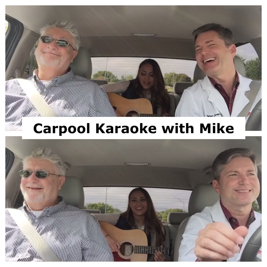 Carpool Karaoke with Mike Catherwood Breast Cancer Survivor