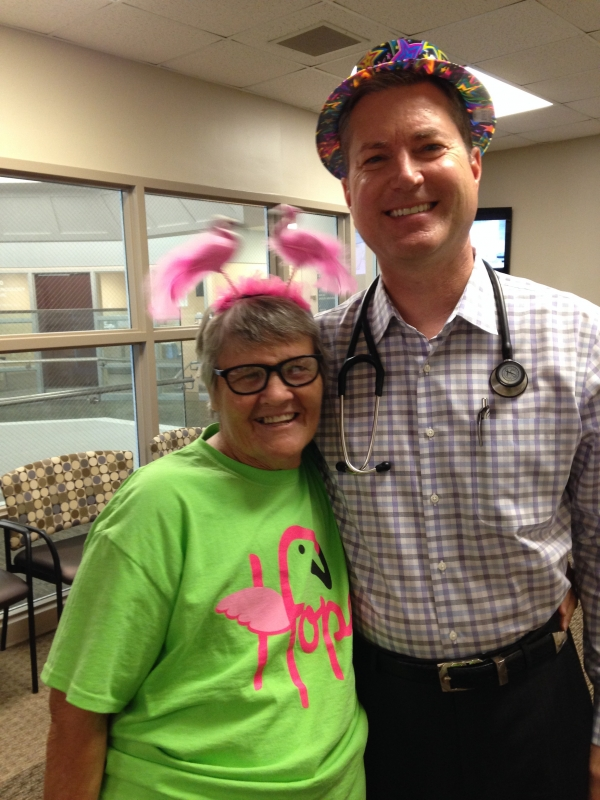Cheryl-Stevens-with-Stephen-Lemon-MD-Oncology-Associates