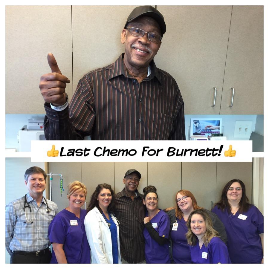Burnett Rush Stage3 Colon Cancer Survivor
