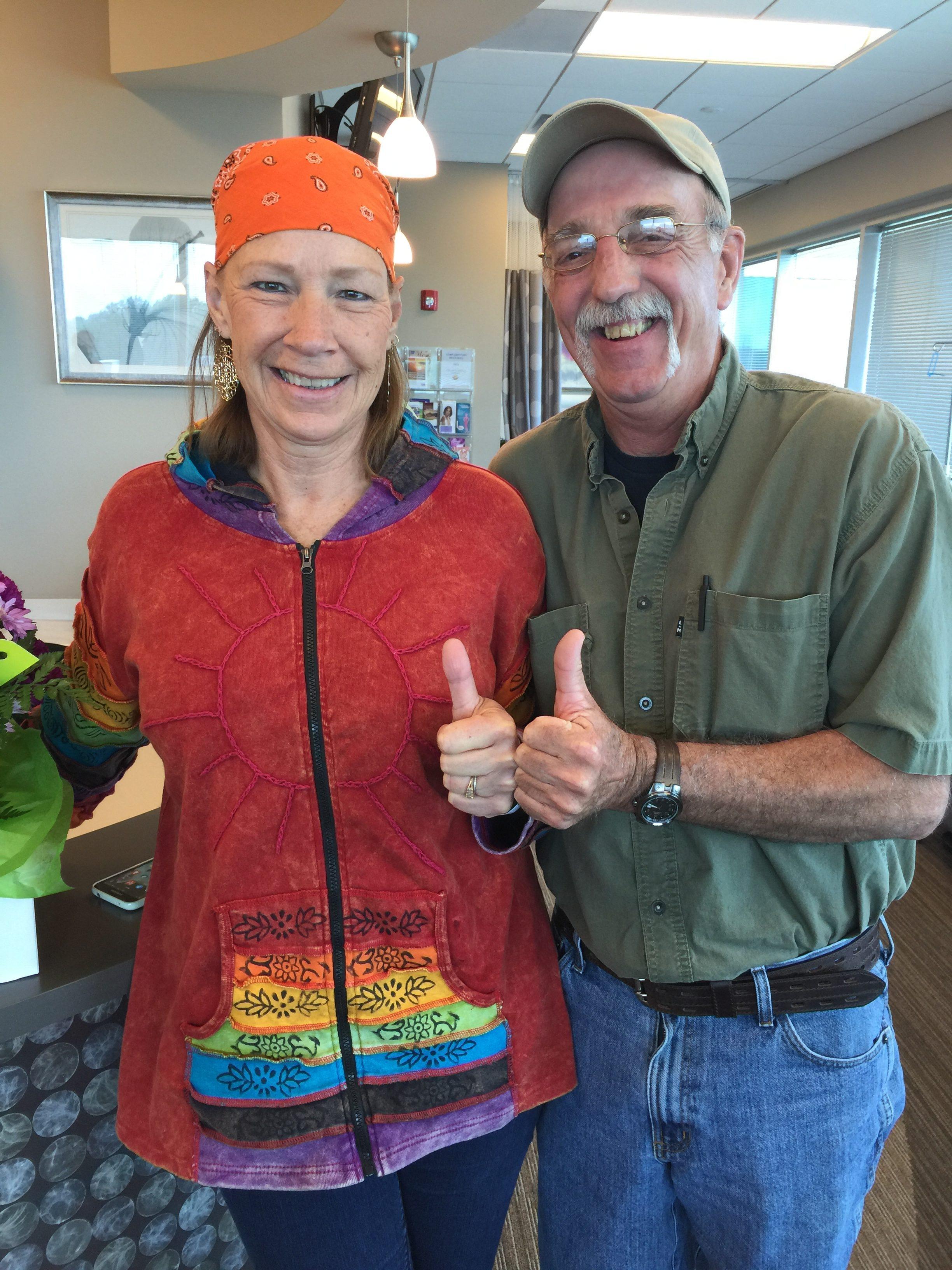 Gail Allen Stage2 Hodgkin Lymphoma Survivor