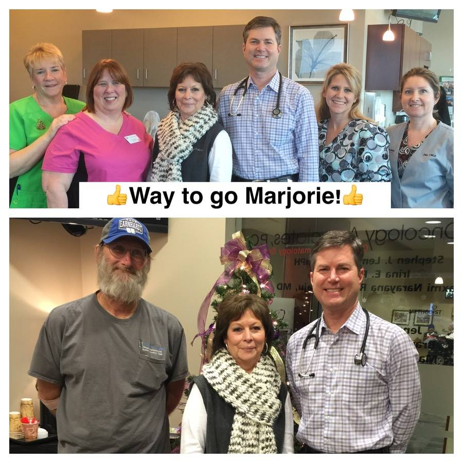 Hereditary Colon Cancer Syndrome Survivor Marjorie Crawford