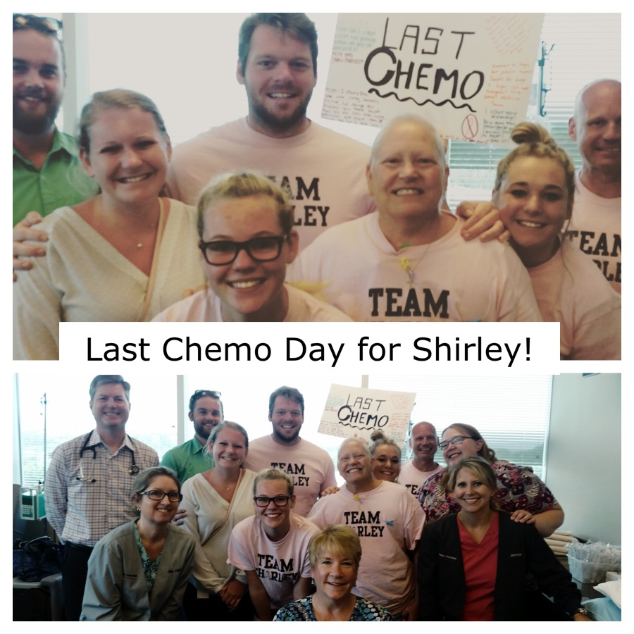 Shirley-Manthey-breast-cancer-survivor-last-chemo-day-oncology-associates