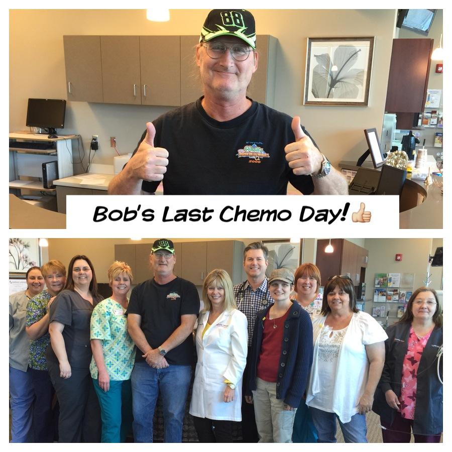 Bob Hunkins Non-Hodgkin Lymphoma Survivor